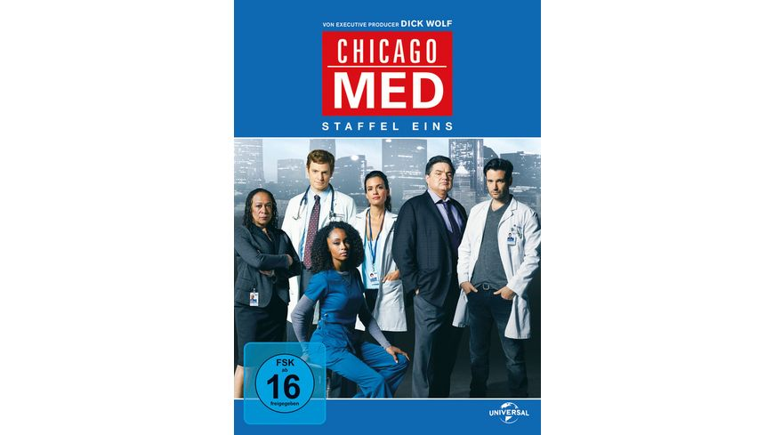 Chicago Med Staffel 1 5 DVDs
