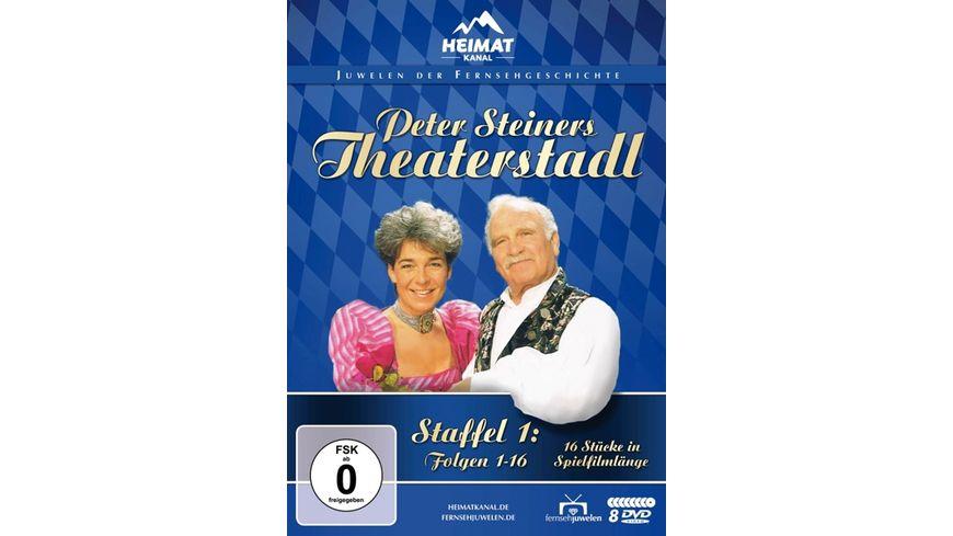 Peter Steiners Theaterstadl - Staffel 1/Folgen 1-16  [8 DVDs]