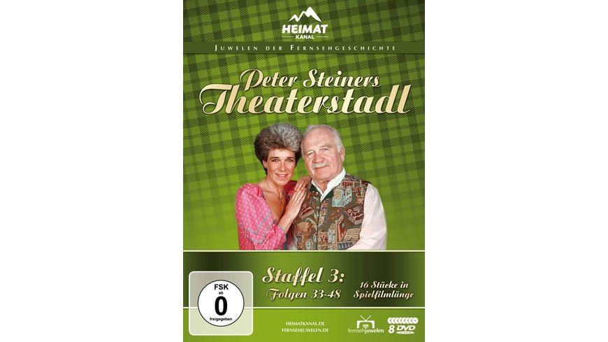 Peter Steiners Theaterstadl Staffel 3 Folgen 33 48 8 DVDs