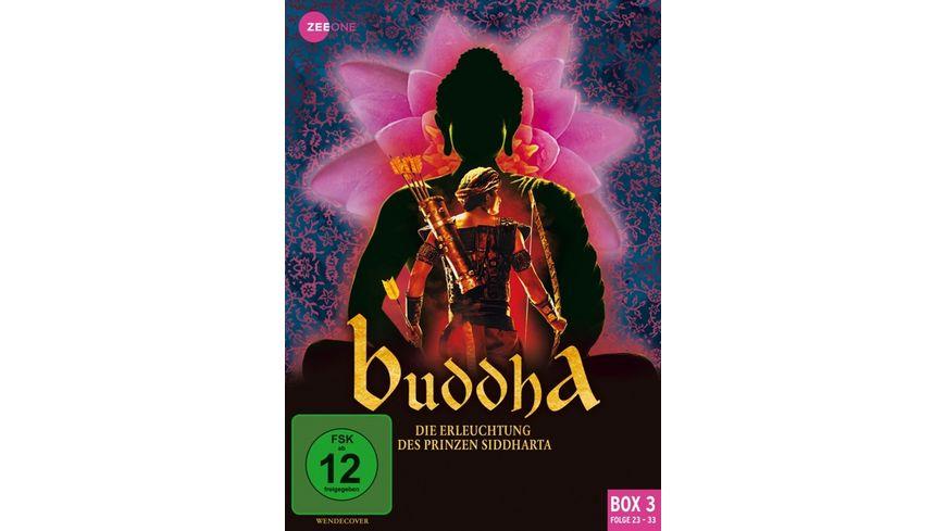 Buddha - Die Erleuchtung des Prinzen Siddharta (Box 3) (Folge 23-33)  [3 DVDs]