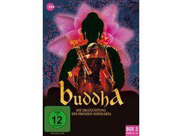 Buddha Die Erleuchtung des Prinzen Siddharta Box 3 Folge 23 33 3 DVDs