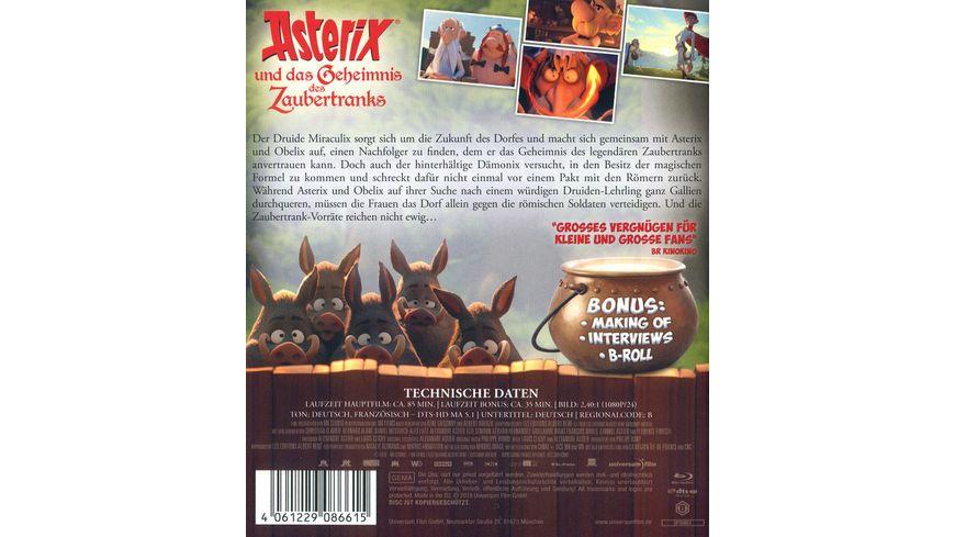 Asterix und das Geheimnis des Zaubertranks