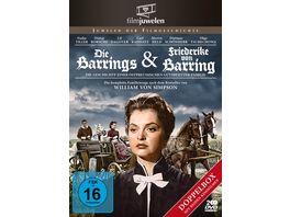 Die Barrings Friederike von Barring Doppelbox Filmjuwelen 2 DVDs