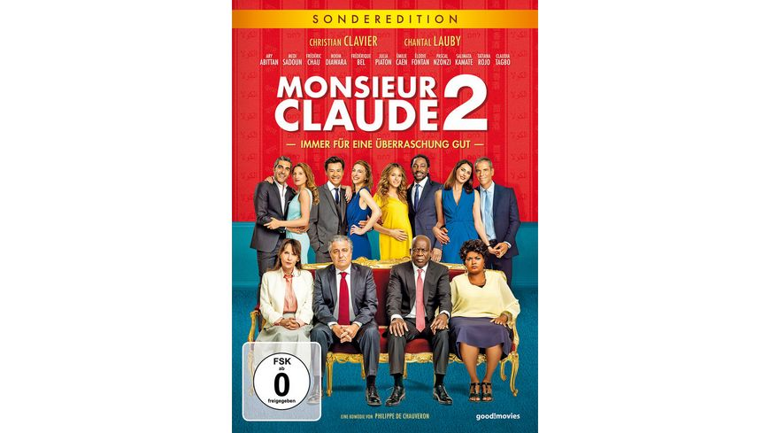 Monsieur Claude 2 Limitierte Sonderedition Bonus DVD