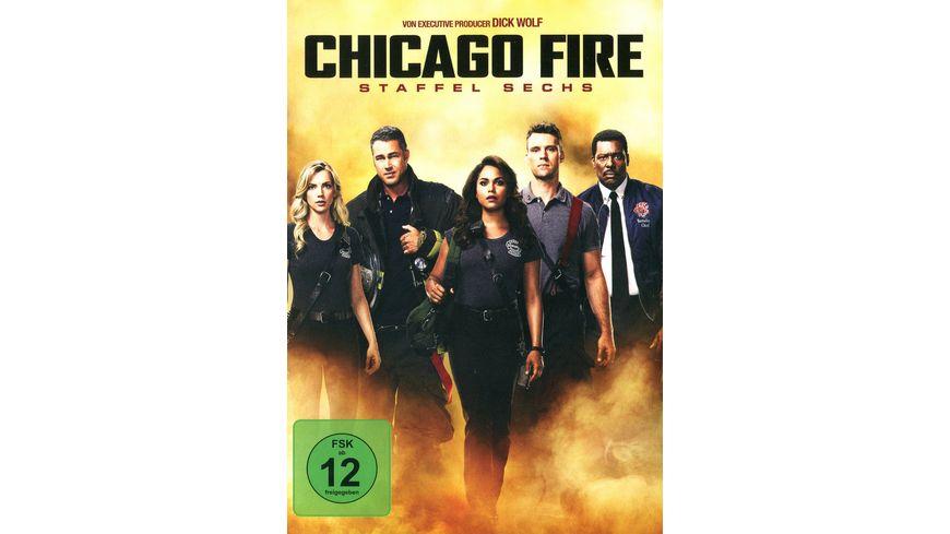 Chicago Fire Staffel 6 6 DVDs
