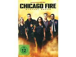 Chicago Fire Staffel 6 6 DVDs