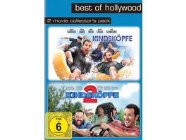 Kindskoepfe Kindskoepfe 2 Best of Hollywood 2 Movie Collector s Pack 2 DVDs