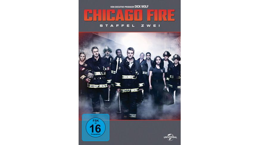 Chicago Fire Staffel 2 6 DVDs