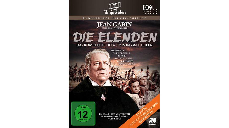 Die Elenden / Die Miserablen - Der legendäre Kino-Zweiteiler (DEFA Filmjuwelen) (2 DVDs)