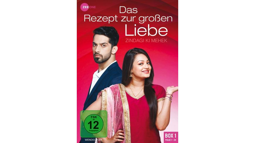Das Rezept zur großen Liebe - Zindagi Ki Mehek (Box 1) (Folge 1-20) [3 DVDs] online bestellen