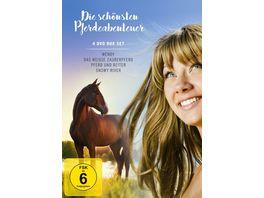 Die schoensten Pferdeabenteuer 4 DVDs