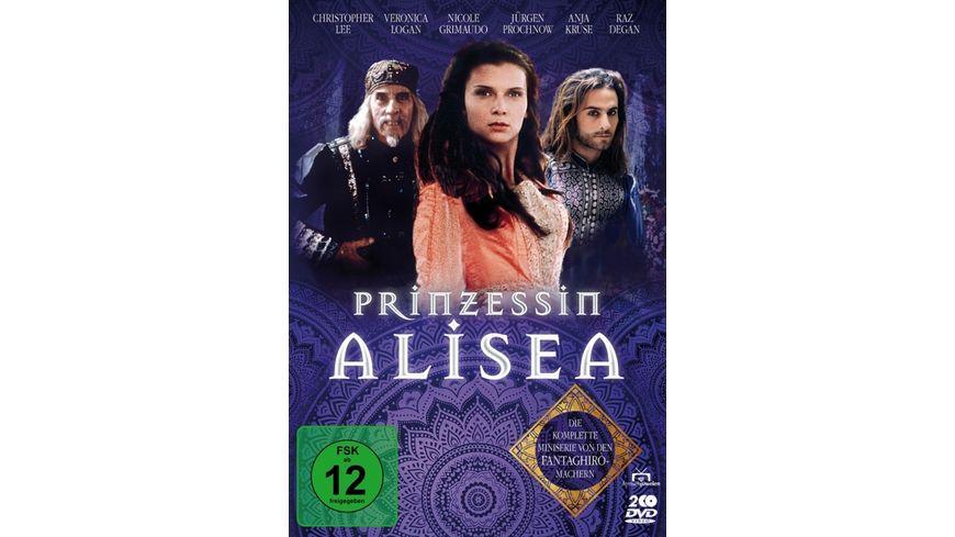 Prinzessin Alisea - Die komplette Miniserie von den Fantaghiro-Machern (Fernsehjuwelen) (2 DVDs)