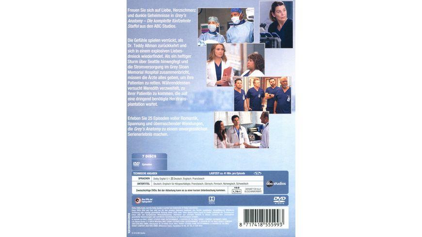 Grey s Anatomy Staffel 15 7 DVDs