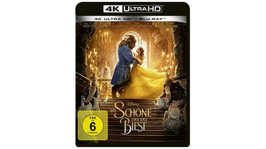 Die Schoene und das Biest 4K Ultra HD Blu ray 2D