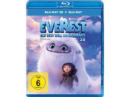 Everest Ein Yeti will hoch hinaus Blu ray 2D