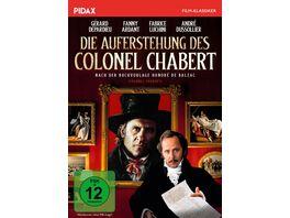 Die Auferstehung des Colonel Chabert Exzellente Literaturverfilmung mit Gerard Depardieu Pidax Film Klassiker