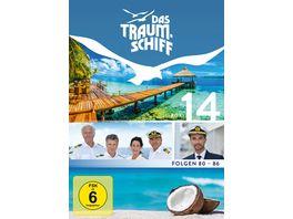 Das Traumschiff 14 mit dem neuen Kapitaen Florian Silbereisen 4 DVDs