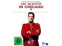 Ein Mountie in Chicago Complete Edition Staffel 1 4 Pilot 17 DVDs