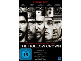 The Hollow Crown Gesamtedition Staffel 1 2 7 DVDs