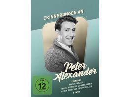 Erinnerungen an Peter Alexander Edition 1 3 DVDs