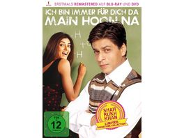 Ich bin immer fuer dich da Main Hoon Na Shah Rukh Khan Signature Collection limitiert DVD