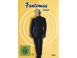 Fantomas Trilogie Box Set 3 DVDs