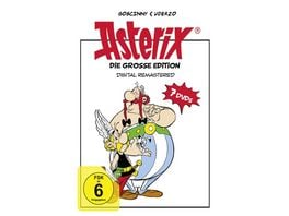 Die grosse Asterix Edition Digital Remastered 7 DVDs