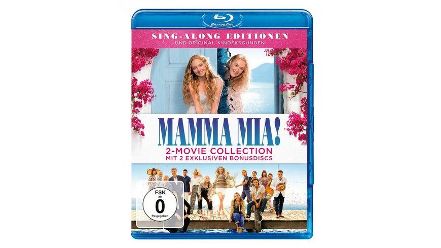 Mamma Mia Mamma Mia Here we go again 2 Bonus Discs 2 BRs