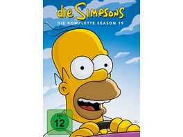 Die Simpsons Season 19 4 DVDs