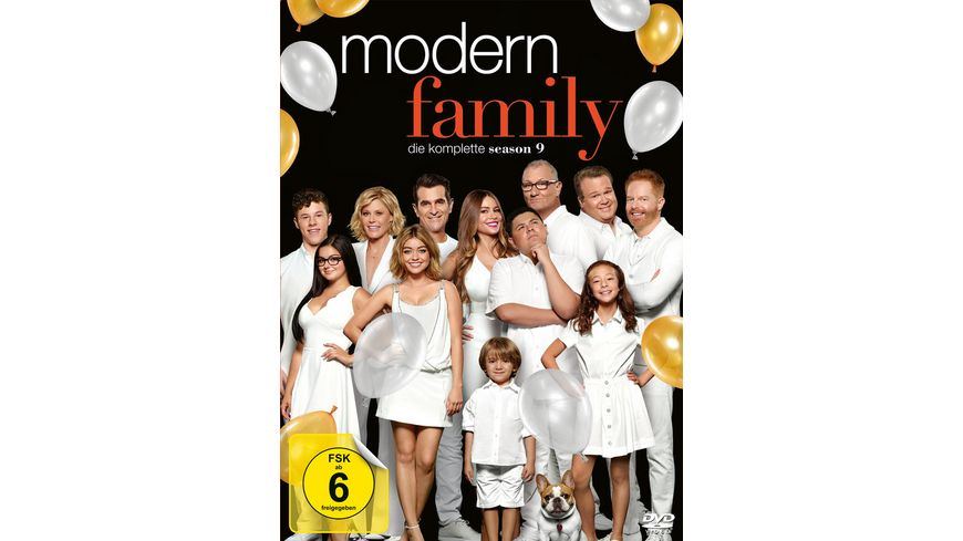 Modern Family Die komplette Season 9 3 DVDs