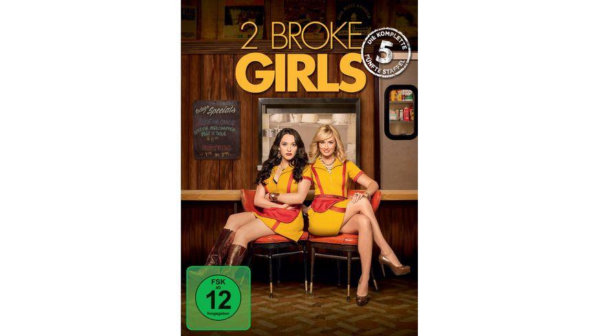 2 Broke Girls - Staffel 5  [3 DVDs]