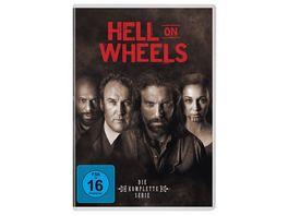 Hell On Wheels Staffel 1 5 17 DVDs
