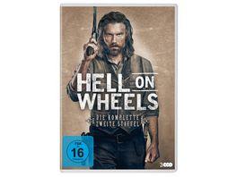 Hell On Wheels Staffel 2 3 DVDs