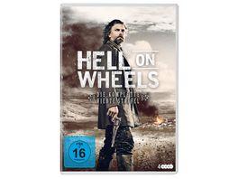 Hell On Wheels Staffel 4 4 DVDs