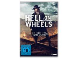 Hell On Wheels Staffel 5 4 DVDs
