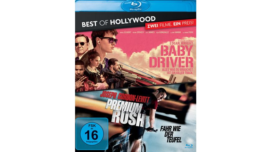 Baby Driver/Premium Rush - Best of Hollywood  [2 BRs]
