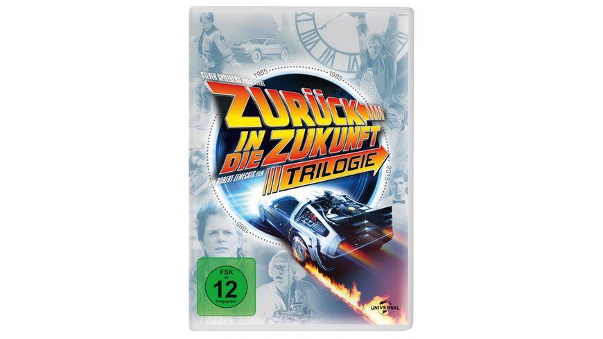 Zurueck in die Zukunft Trilogie 30th Anniversary 4 DVDs