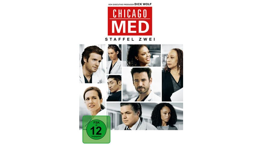 Chicago Med Staffel 2 6 DVDs