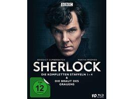Sherlock Die kompletten Staffeln 1 4 Die Braut des Grauens 10 BRs