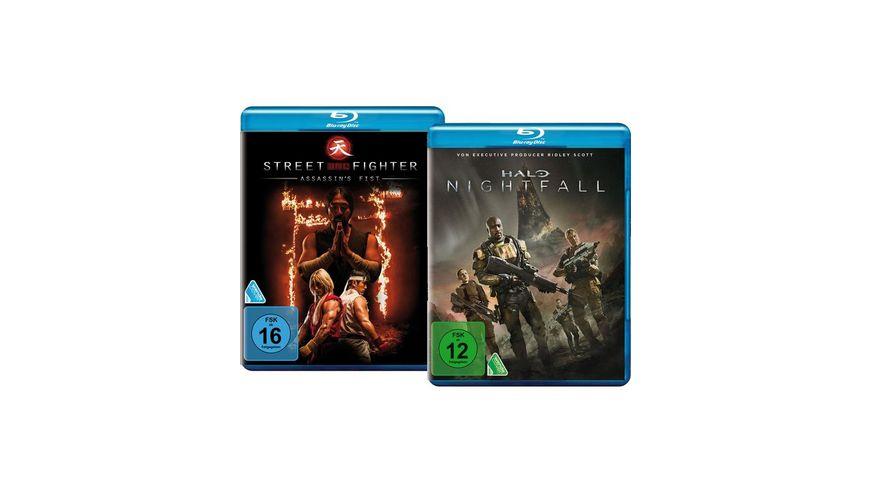 Bundle: Halo Nightfall / Street Fighter: Assassin's Fist LTD.  [2 BRs]