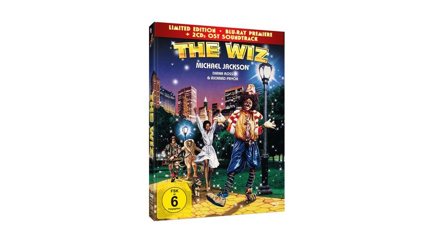 The Wiz Limited Edition Mediabook 2CD OST