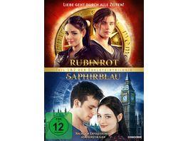 Rubinrot Saphirblau Die Doppeledition 2 DVDs