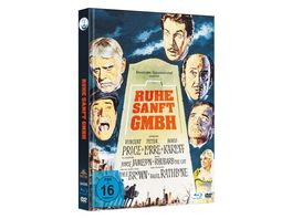 Ruhe Sanft GmbH Limited Mediabook Edition Uncut Blu ray DVD plus Booklet HD neu abgetastet