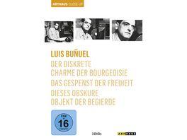 Luis Bunuel Arthaus Close Up 3 DVDs