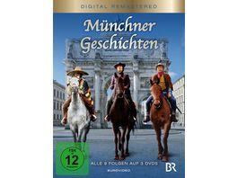 Muenchner Geschichten 3 DVDs