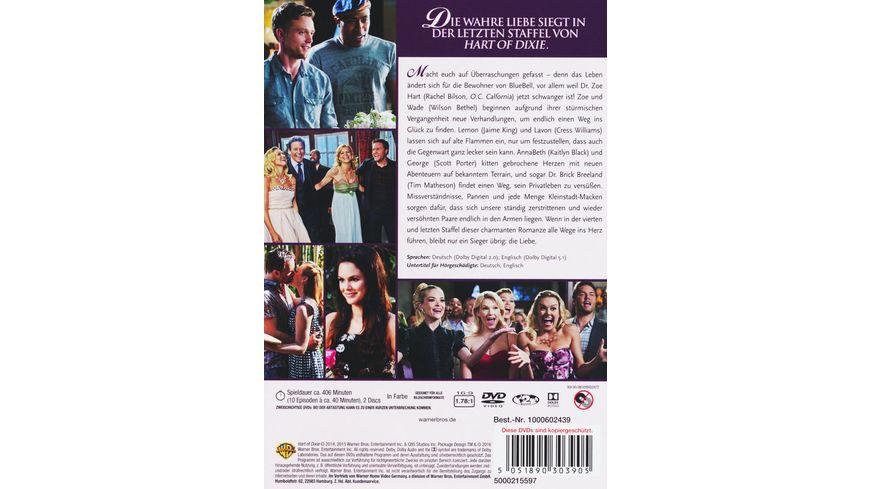 Hart of Dixie Die komplette 4 Staffel 2 DVDs