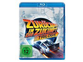 Zurueck in die Zukunft Trilogie 30th Anniversary 4 BRs