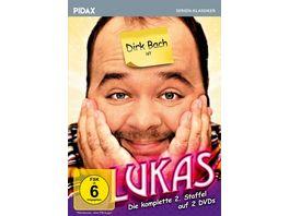 Lukas Staffel 2 Weitere 13 Folgen der Comedyserie mit Dirk Bach Pidax Serien Klassiker 2 DVDs