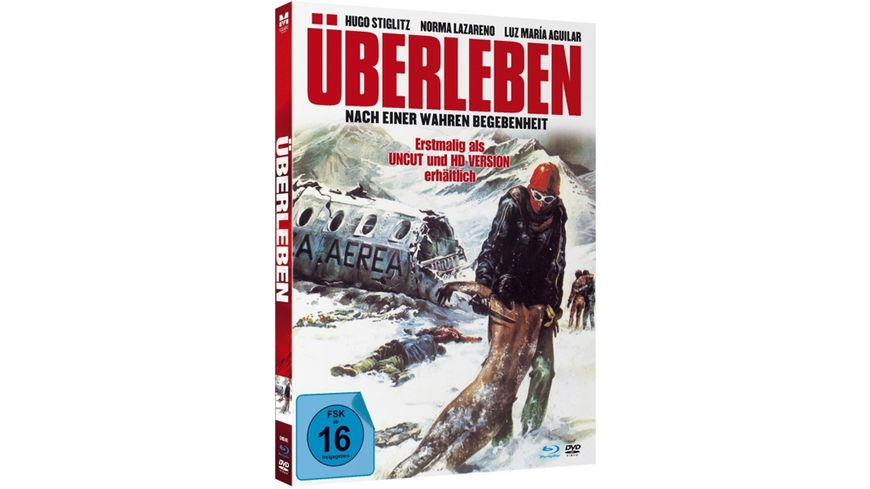 Ueberleben Uncut limited Mediabook Edition Blu ray DVD plus Booklet digital remastered