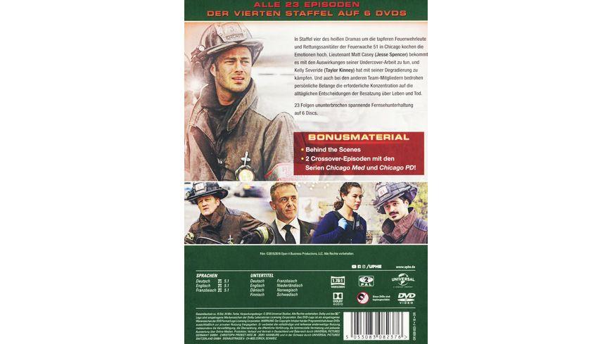 Chicago Fire Staffel 4 6 DVDs